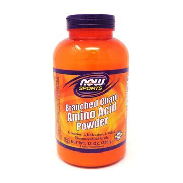 Branch Chain Amino Powder By Now Foods - 12 Ounces