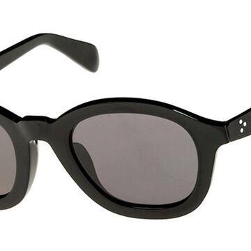 Celine CL40017I 01A Womenas Sunglasses Black Size 52