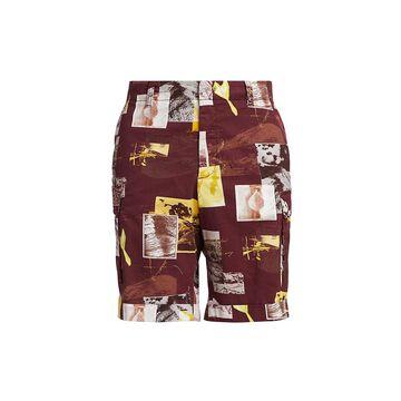 Z Zegna Printed Cargo Shorts