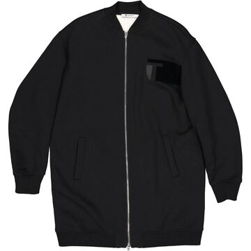 T By Alexander Wang Black Cotton Jackets