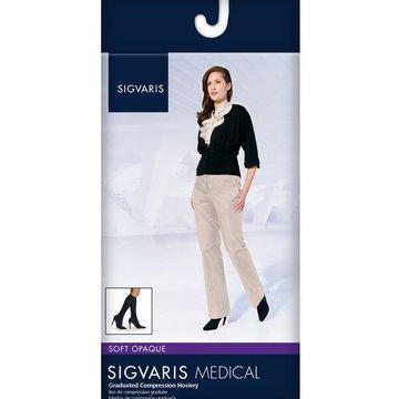 Sigvaris Women's Soft Opaque 841 Calf 15-20mmHg