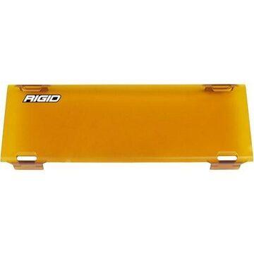 Rigid Industries 10in E-Series Light Cover - Amber -trim 4in & 6in