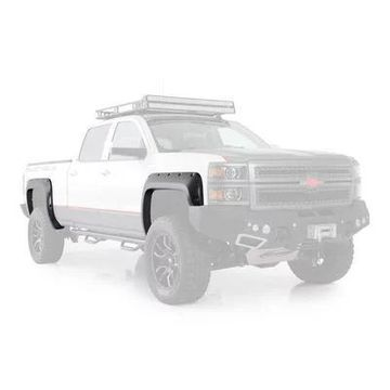 Smittybilt M1 Color-Matched Fender Flares (Black) - 17291-GBA