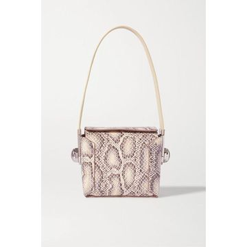 Louise Et Cie - Muri Snake-effect Leather Shoulder Bag - Snake print