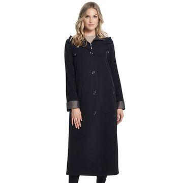 Women's Gallery Hooded Long Rain Jacket