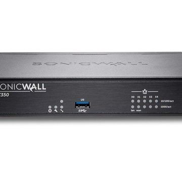 SonicWall TZ350 - Security appliance - with 2 years SonicWALL Advanced Gateway Security Suite - GigE - SonicWALL Launch Promo
