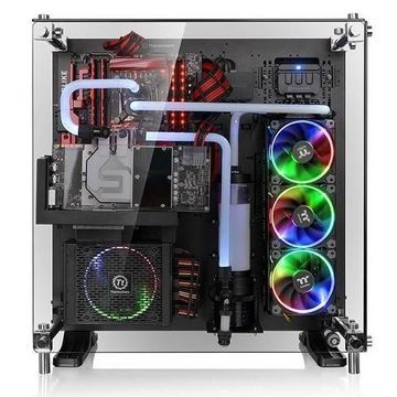 ThermalTakeCore P5 Tempered Glass Edition ATX Wall-Mount Chassis - Black(CA-1E7-00M1WN-03)