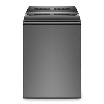 Whirlpool 4.8-cu ft Smart Capable High-Efficiency Top-Load Washer - White