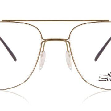 Silhouette 5525 5640 Men's Glasses Black Size 54 - Free Lenses - HSA/FSA Insurance - Blue Light Block Available