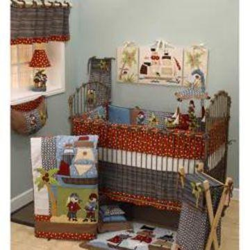 Cotton Tale Pirates Cove 8-piece Crib Bedding Set