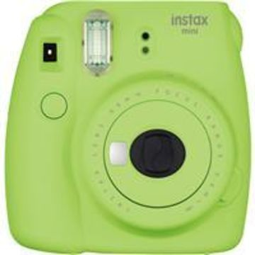 Fujifilm Instax Mini 9 Camera, Lime Green