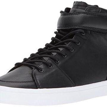 Creative Recreation Women's w Savona Sneaker, Black Leather, 8 B US