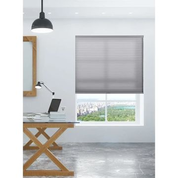 """Arlo Blinds Grey Light Filtering Cordless Cellular Shades (69""""W x 72""""H)"""