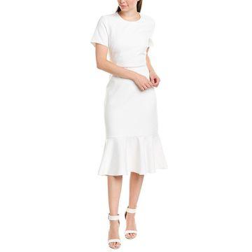 Shoshanna Womens Midi Dress