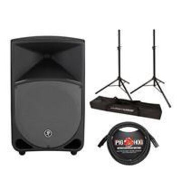 Mackie Thump 12& Powered 2CH Loudspeaker with Stand, and 15' Cable