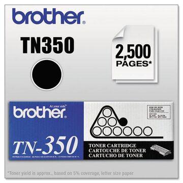 TN350 Toner, 2500 Page-Yield, Black