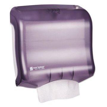 San Jamar Ultrafold Towel Dispenser, 11 1/2w x 6d x 11 1/2h, Black Pearl -SJMT1750TBKRD