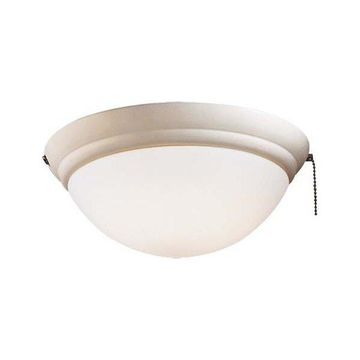 Minka Aire Light Kit One Light Fan Light Kit K9375-L-BWH