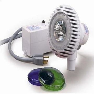 Pool Central Water AquaLuminator Halogen Light for Above Ground Swimming Pool and Spa - Multicolor
