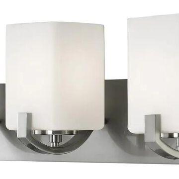 Canarm Palmer 3-Light Nickel Modern/Contemporary Vanity Light | IVL422A03BN