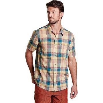 Toad & Co Men's Cuba Libre SS Shirt - Large - Desert