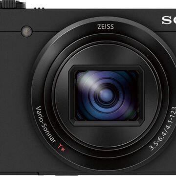 Sony - Cyber-shot DSC-HX80 18.2-Megapixel Digital Camera