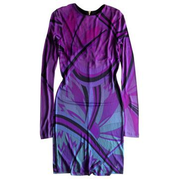 Emilio Pucci Purple Viscose Dresses