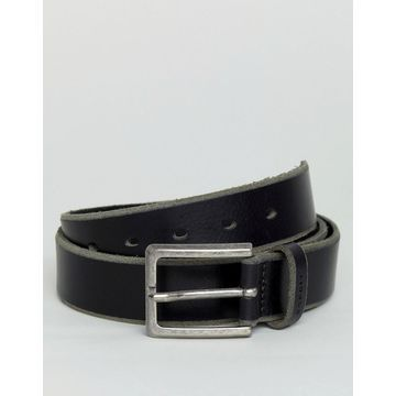 Esprit Leather Belt In Black