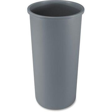 Rubbermaid Commercial, RCP354600GY, Untouchable Round Container, 1, Gray