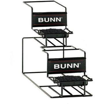 BUNN Universal UNIV-2 APR Airpot Rack, 1 Upper, 1 Lower
