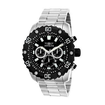 Men's Invicta Pro Diver Chronograph Watch with Black Dial (Model: 22516)
