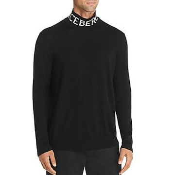Iceberg Logo Long-Sleeve Sweater
