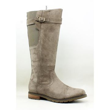 Ariat Womens Stoneleigh H2o Taupe Riding Boots Size 8.5