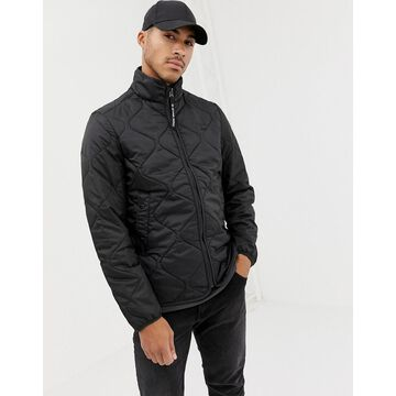G-Star Edla ripstop quilted jacket in black