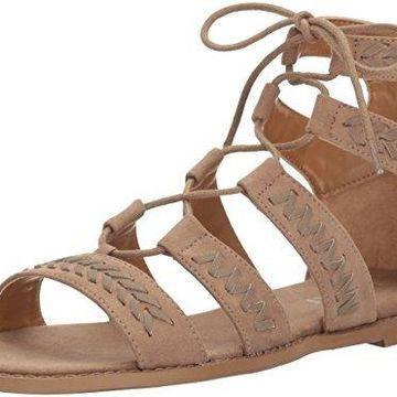 Report Women's Zendaya Gladiator Sandal, Taupe, 8.5 M US