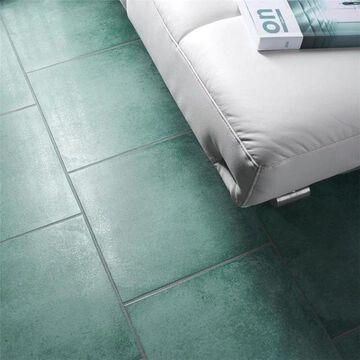 SomerTile 14.125x14.125-inch Symbol Riu Porcelain Floor and Wall Tile (8 tiles/11.3 sqft.)