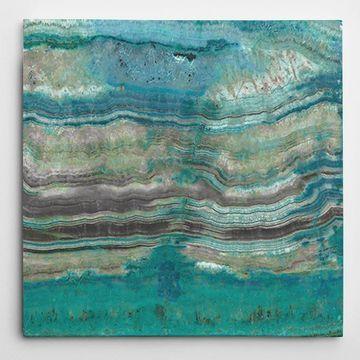 Wexford Home Susan Jill 'Azure I' Wall Art