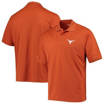 Men's Antigua Texas Orange Texas Longhorns Pique X-tra Lite Polo