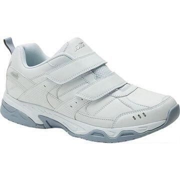 Avia Women's Avi-Union ll Strap Sneaker White/Chrome Silver