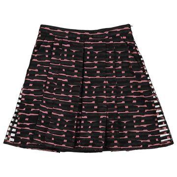 Philosophy Di Alberta Ferretti Black Cotton Skirts