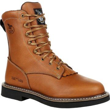 #GB00380, Georgia Boot Farm & Ranch Lacer Work Boot