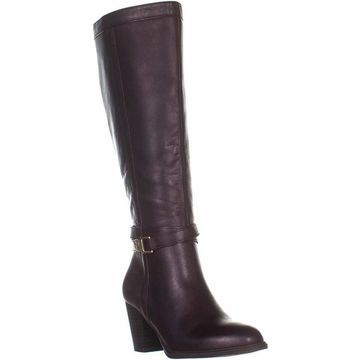 Giani Bernini Womens ROZARIO Leather Almond Toe Mid-Calf