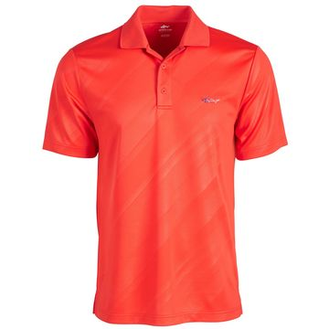 Men's Embossed Logo Polo