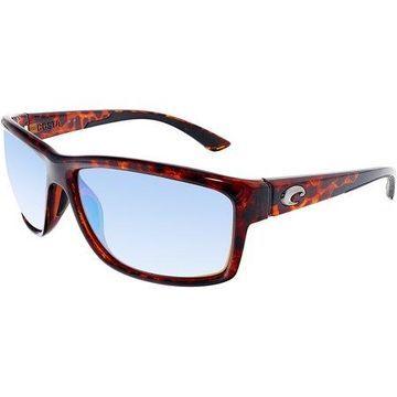 Polarized Mag Bay AA10OGMGLP Brown Rectangle Sunglasses