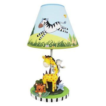 Teamson Table Lamp, Sunny Safari Room Collection