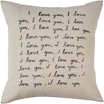 ED Ellen DeGeneres Tulare Natural Throw Pillow