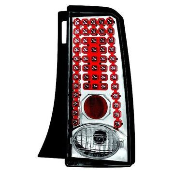 IPCW 03-07 Scion xB Tail Lamps LED Crystal Clear LEDT-2034C Pair