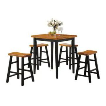 Acme Gaucho 5-Piece Pack Counter Height Set