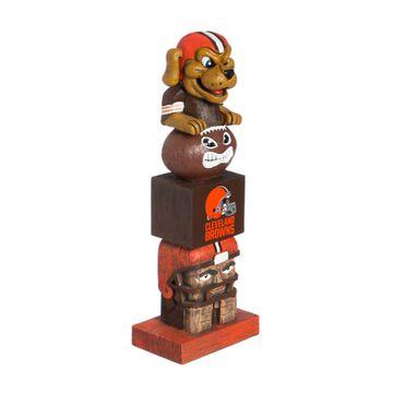 Evergreen Cleveland Browns Tiki Totem