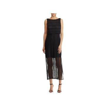 American Living Womens Maxi Dress Sleeveless Lace
